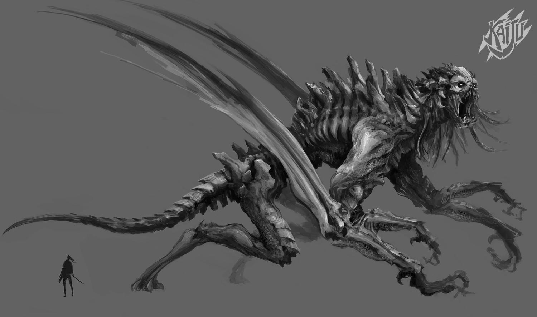 Alexandre chaudret kaijus creature predator04