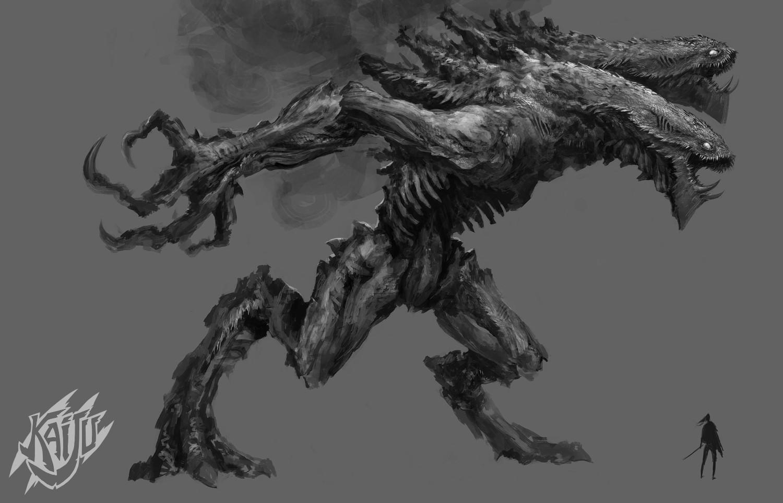 Alexandre chaudret kaijus creature predator02