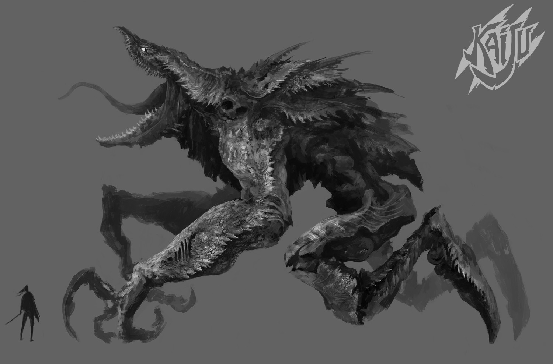 Alexandre chaudret kaijus creature predator03