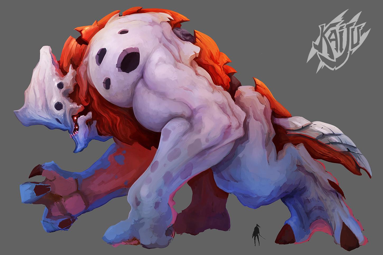 Alexandre chaudret kaijus creature predator13b