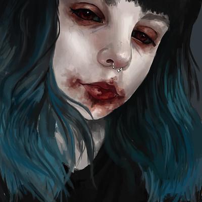 Imogen appleton spooky selfie