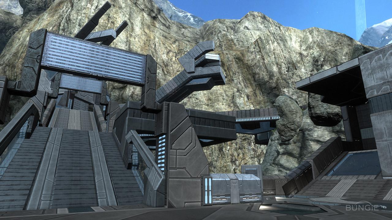 ArtStation - Halo Reach: Forge World Pieces, Kayl Myers