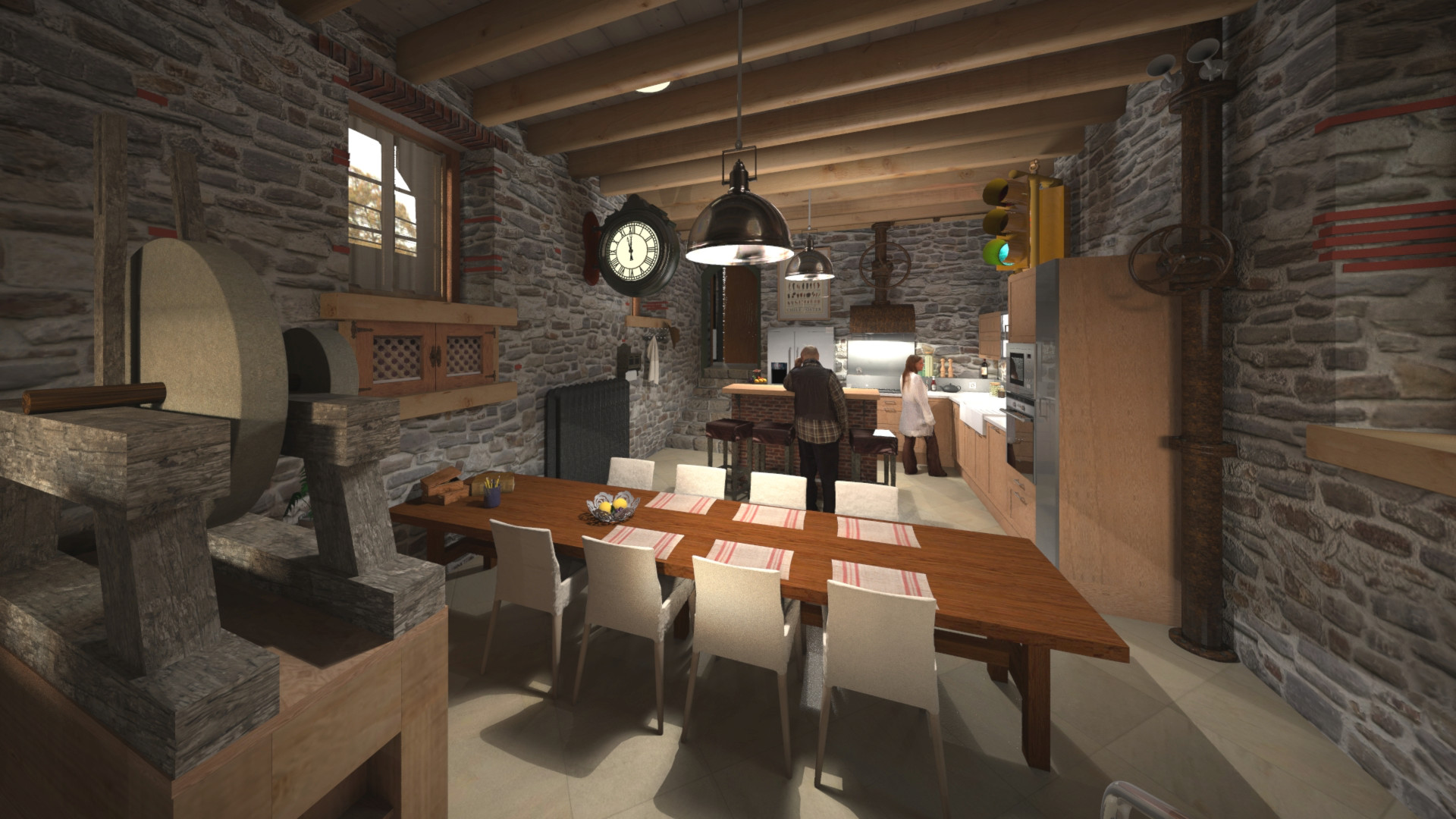 Duane kemp rivendell 16 kitchen test 15 a rusty