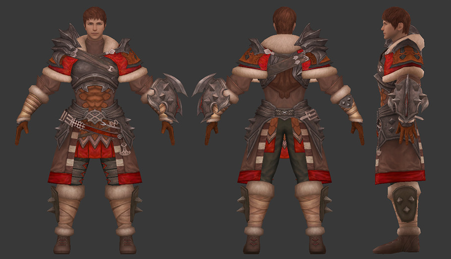 Minyeong Cha - ffxiv warrior