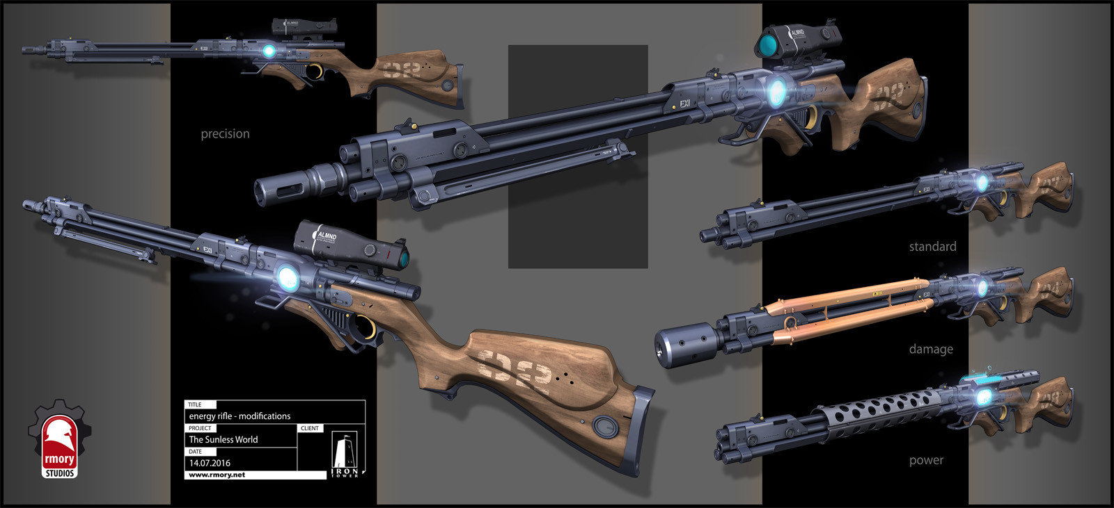 Kris thaler energyrifle rev7 mods release