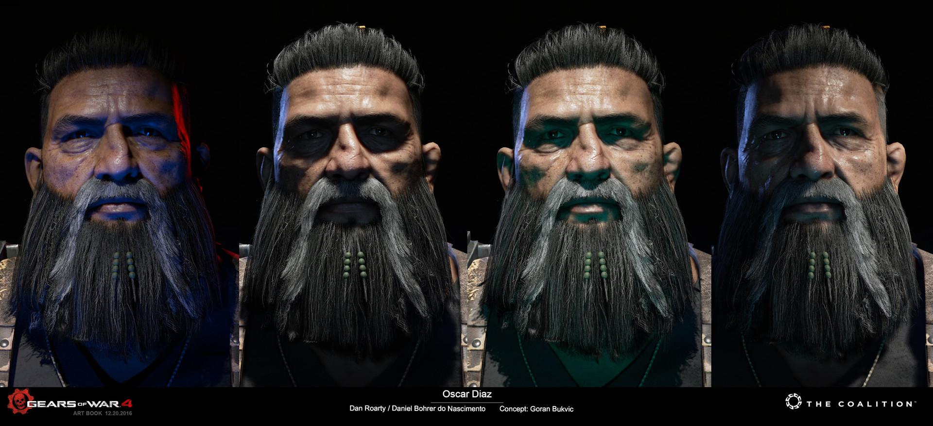 Dan Roarty Oscar Diaz Gears Of War 4