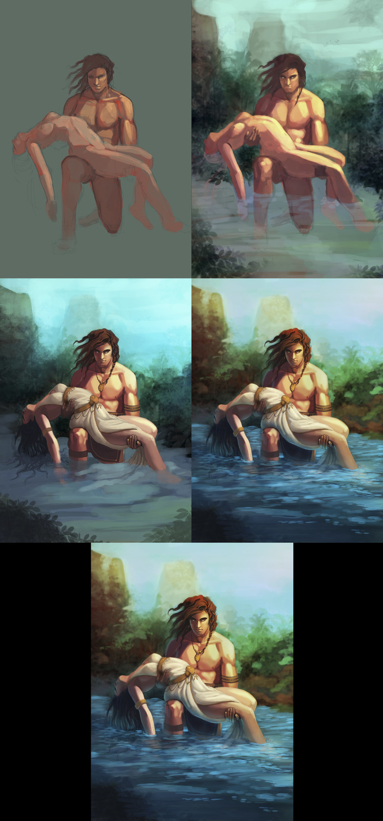 The Lake Process