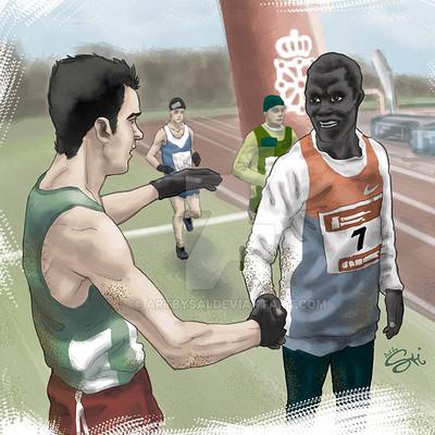 Saimon toncelli correre marzo by artbysai d5xi86b