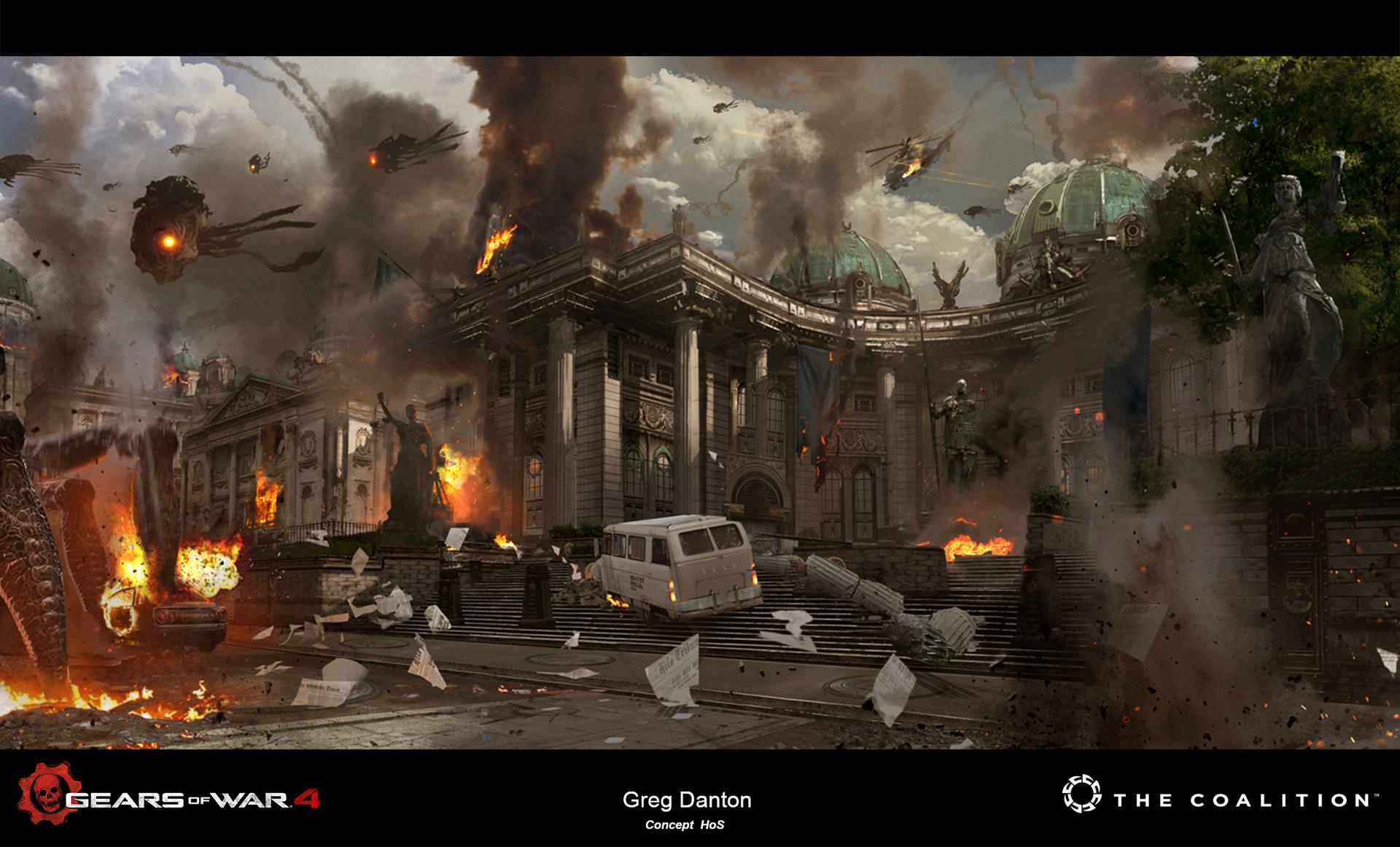 Greg danton art 18