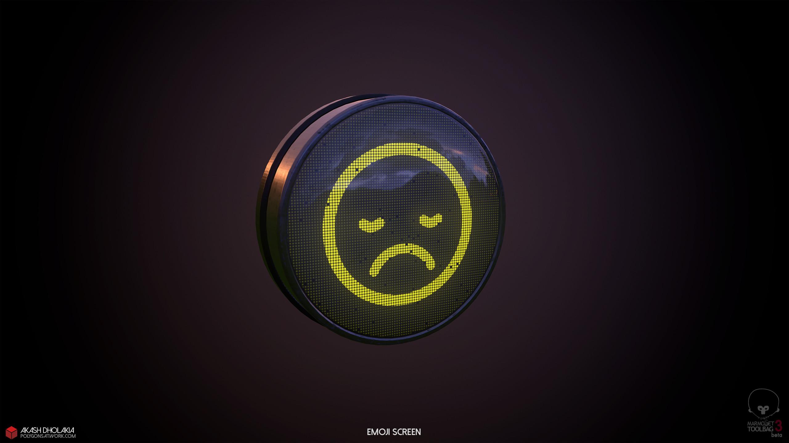 Emoji Sad Face.