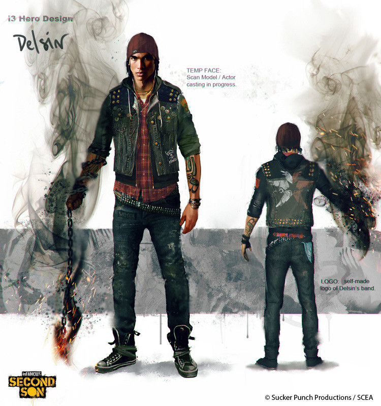 Infamous Second Son Delsin Rowe Outfit