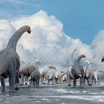 Damir g martin herd titanosauria