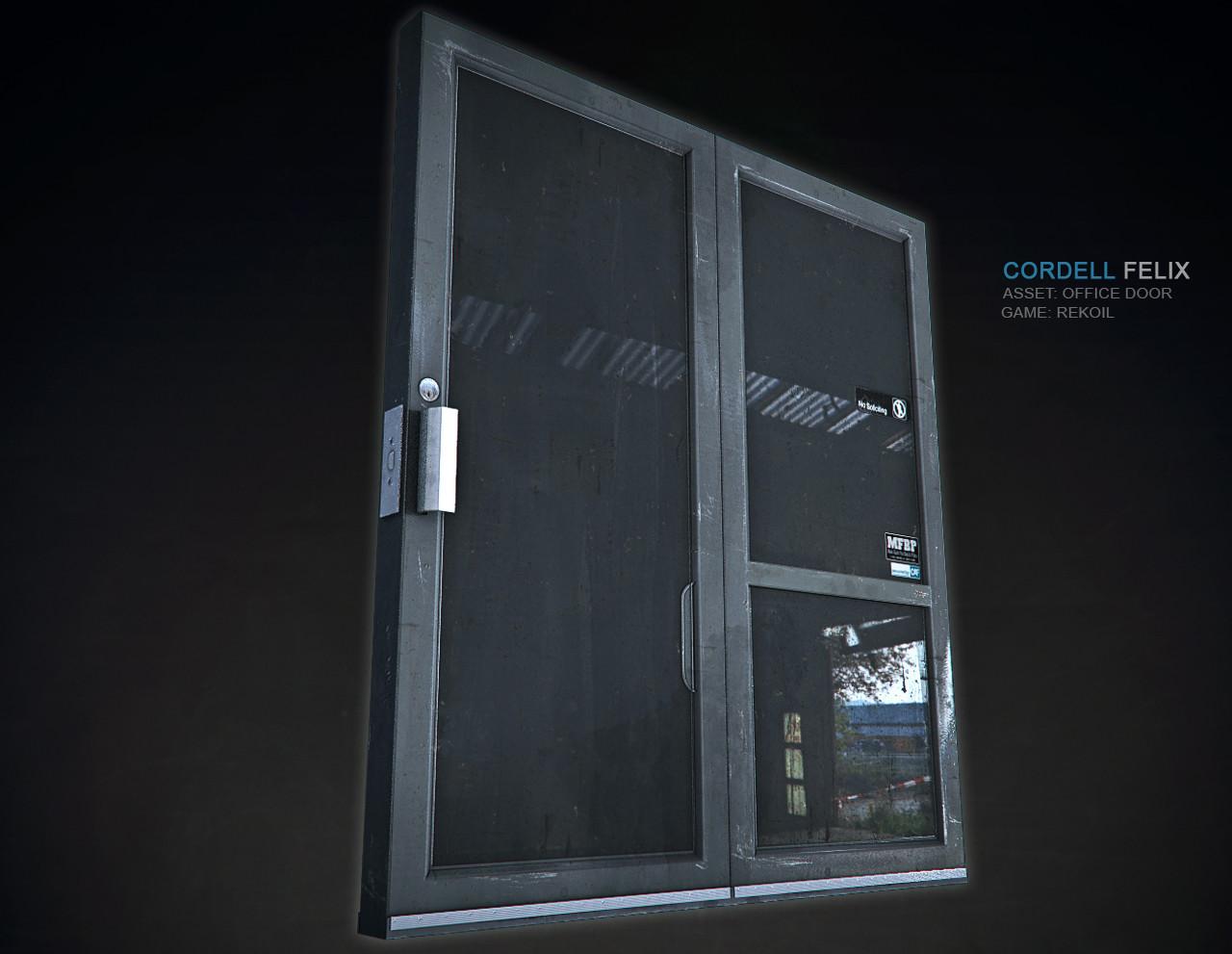 Cordell felix cordell door composite