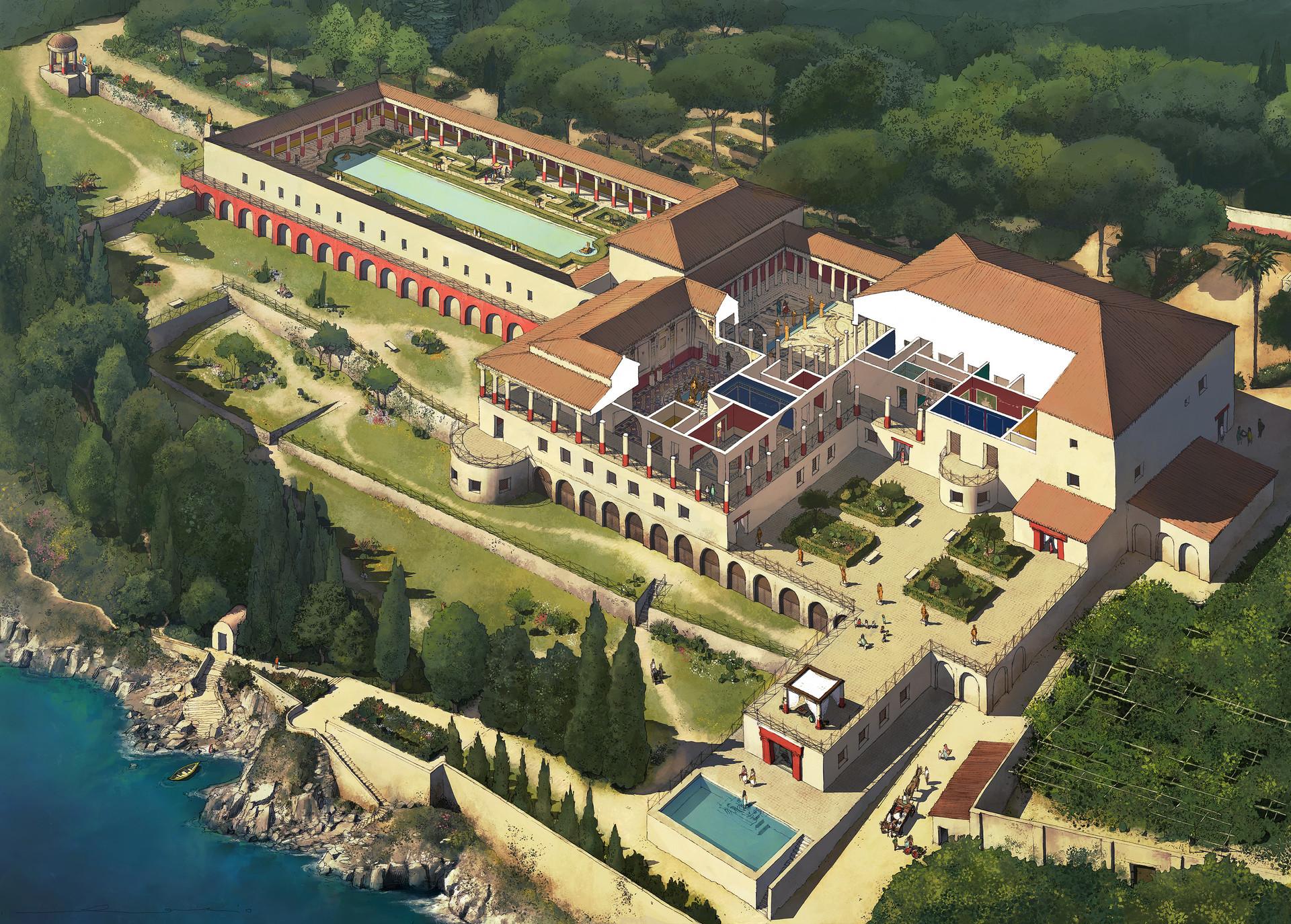 Rocio espin pinar villa papyri