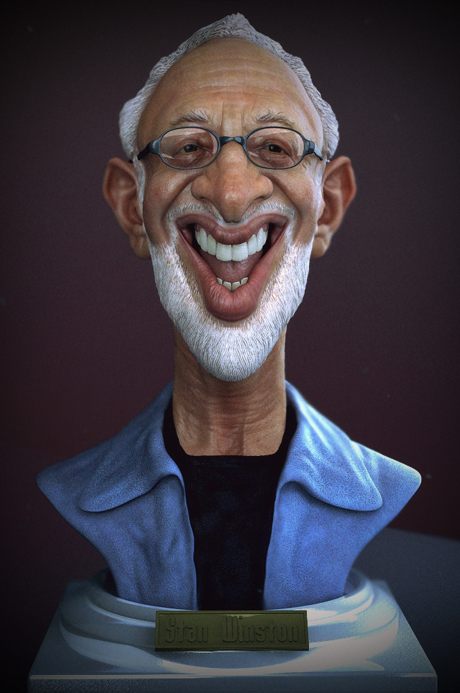 Stan, for the Stan Winston Challenge, based on Krueger's caricature.