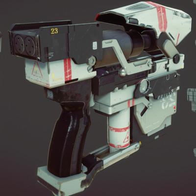 Mugisha monga pistol