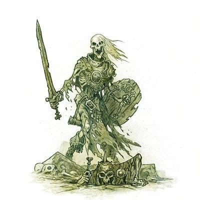 Johan egerkrans skelett
