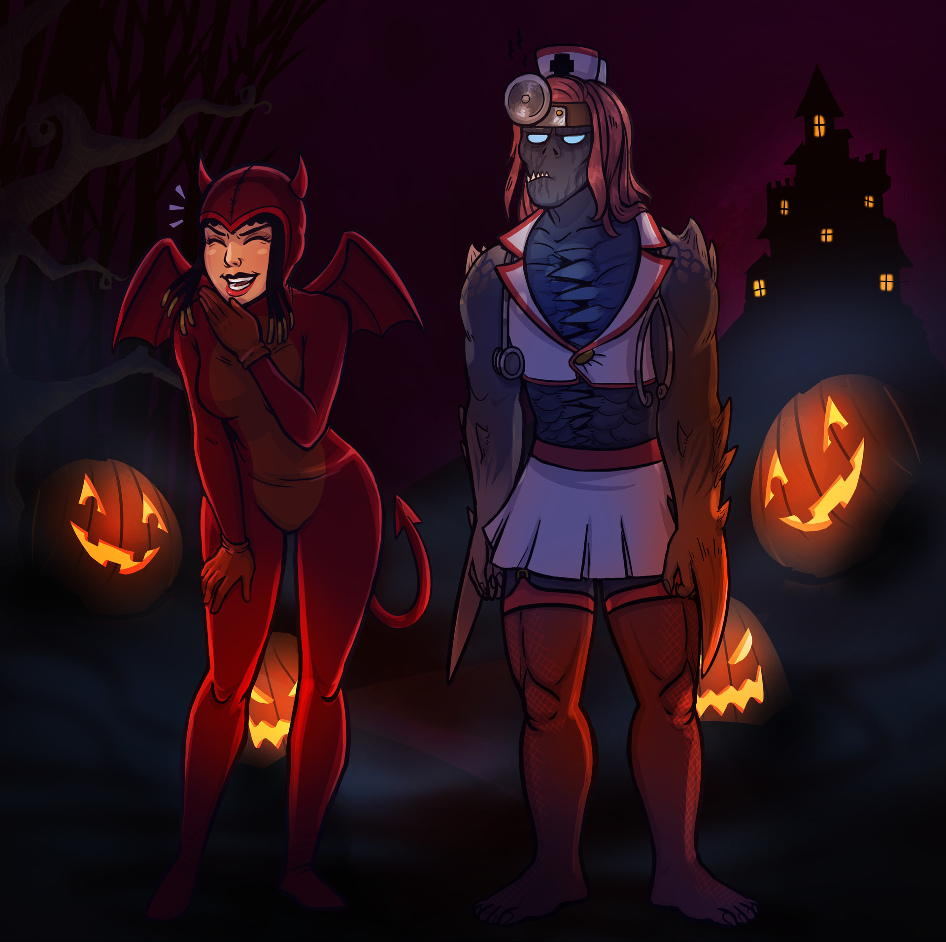 Ena lorenzo halloween baka neith