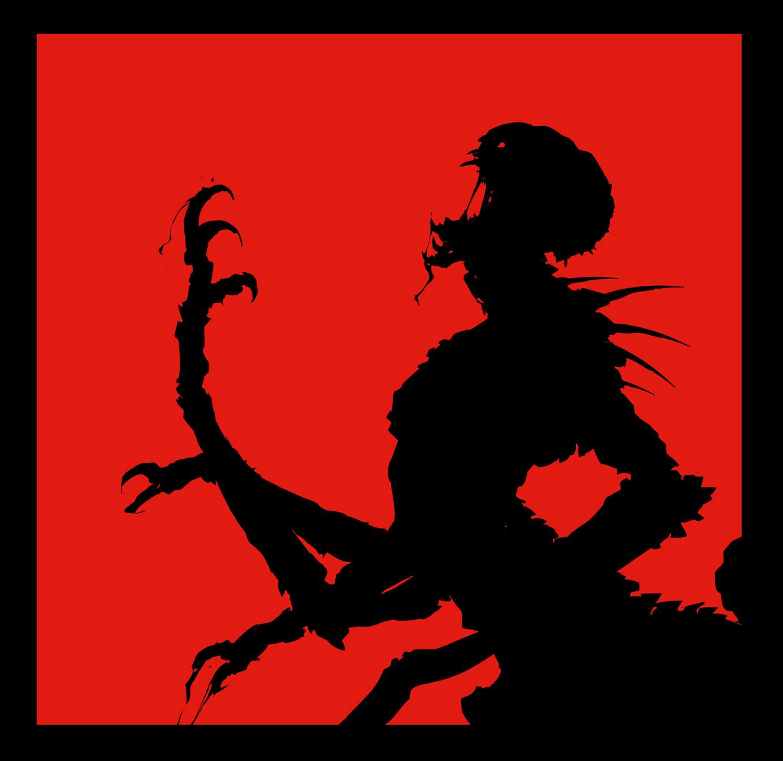 Scott flanders dlc teaser silhouette monster