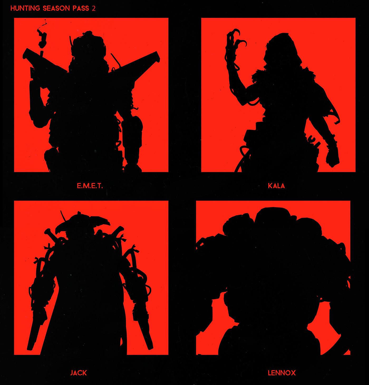 Scott flanders dlc teaser silhouettes hunters