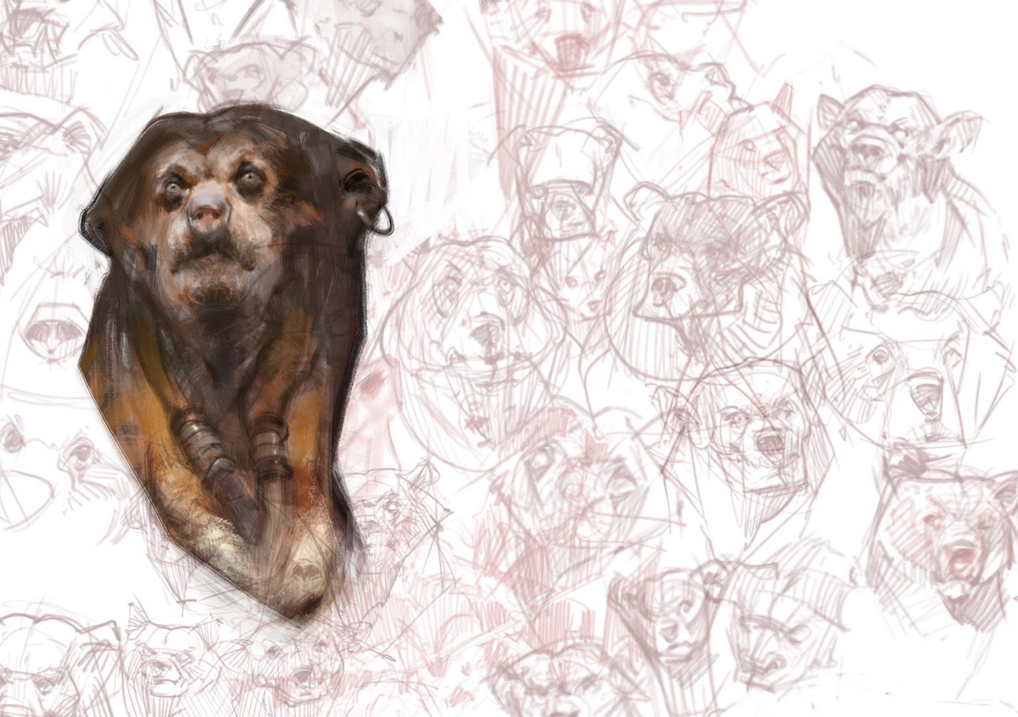 Artstation Sun Bear Anthro Vlad Gheneli