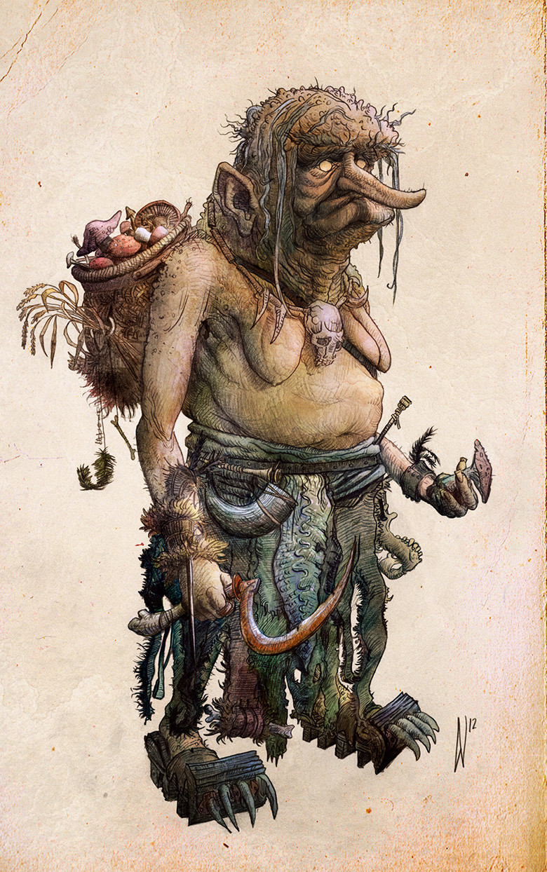 Dirk wachsmuth swamp witch concept bydirkwachsmuth