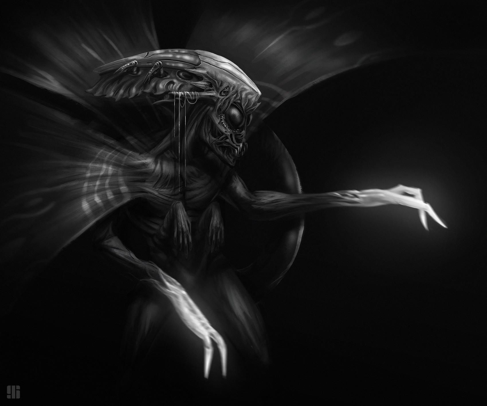 Ivan sevic creature sketch 03
