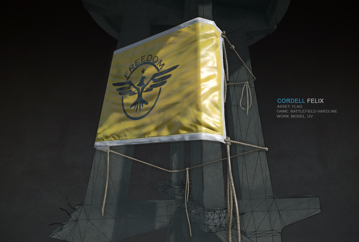 Cordell felix towerflag bfh