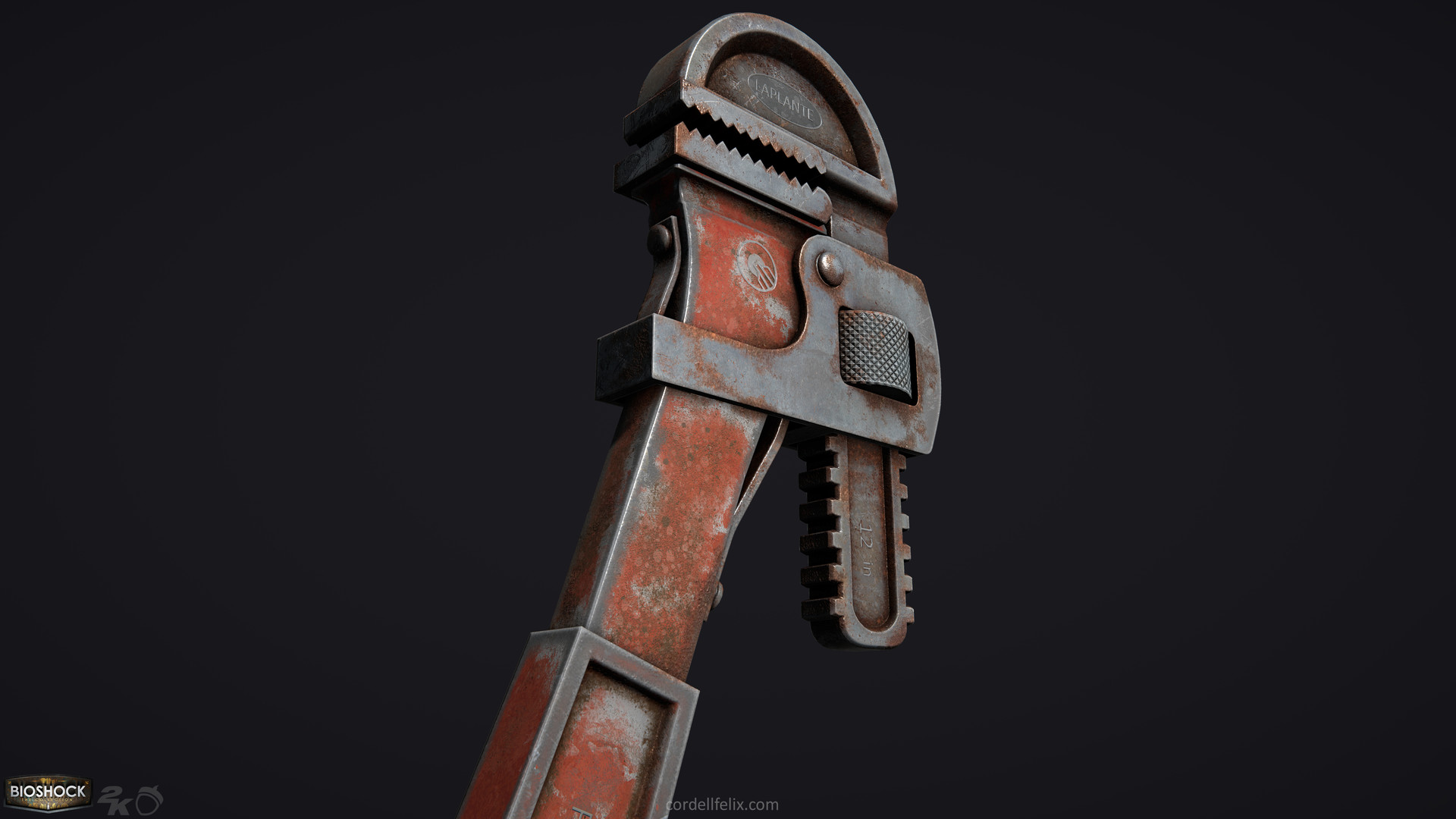 Cordell felix cordellfelix bioshock wrench 03