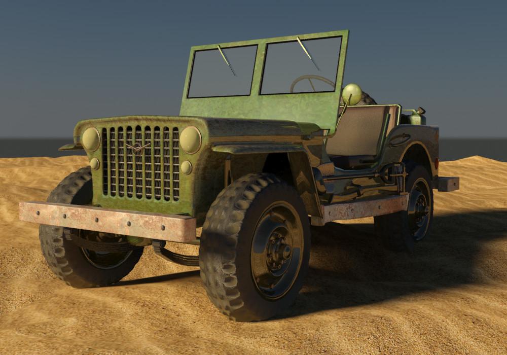 Petar doychev military jeep 10