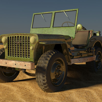 Petar doychev military jeep 10