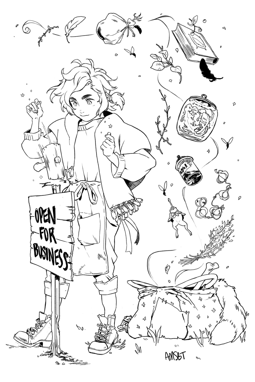 Amanda schank merchant witch