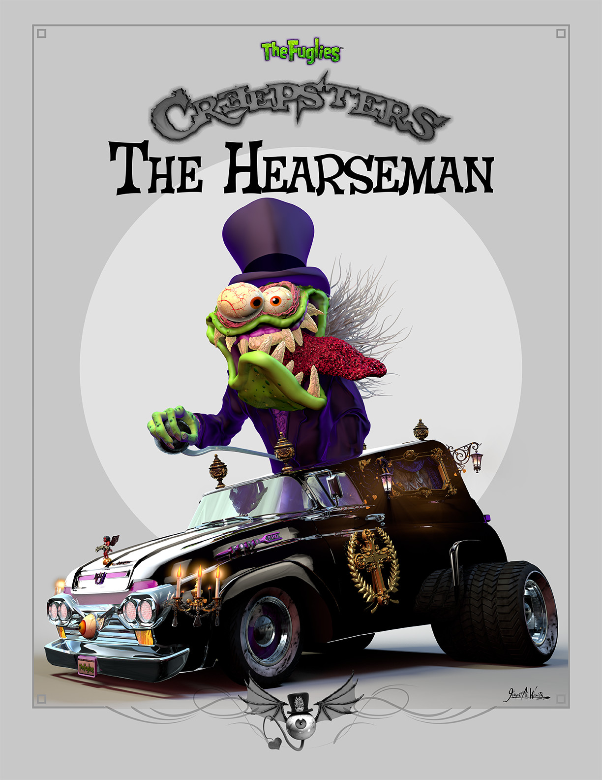 Creepsters - The Hearseman