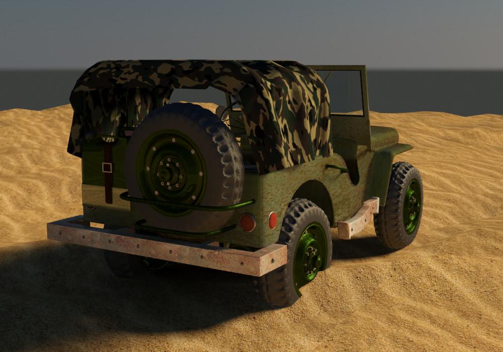 Petar doychev military jeep 16