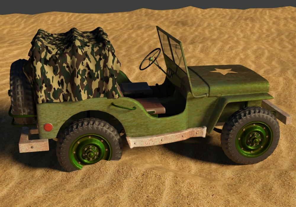 Petar doychev military jeep 18