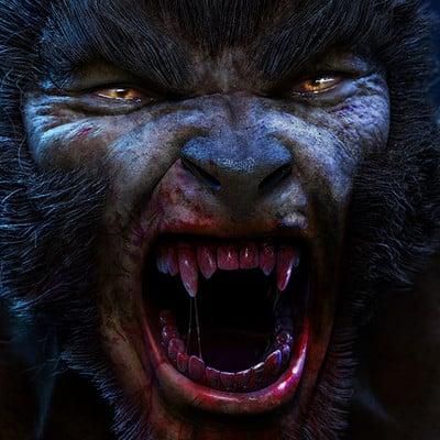 J hill werewolf web
