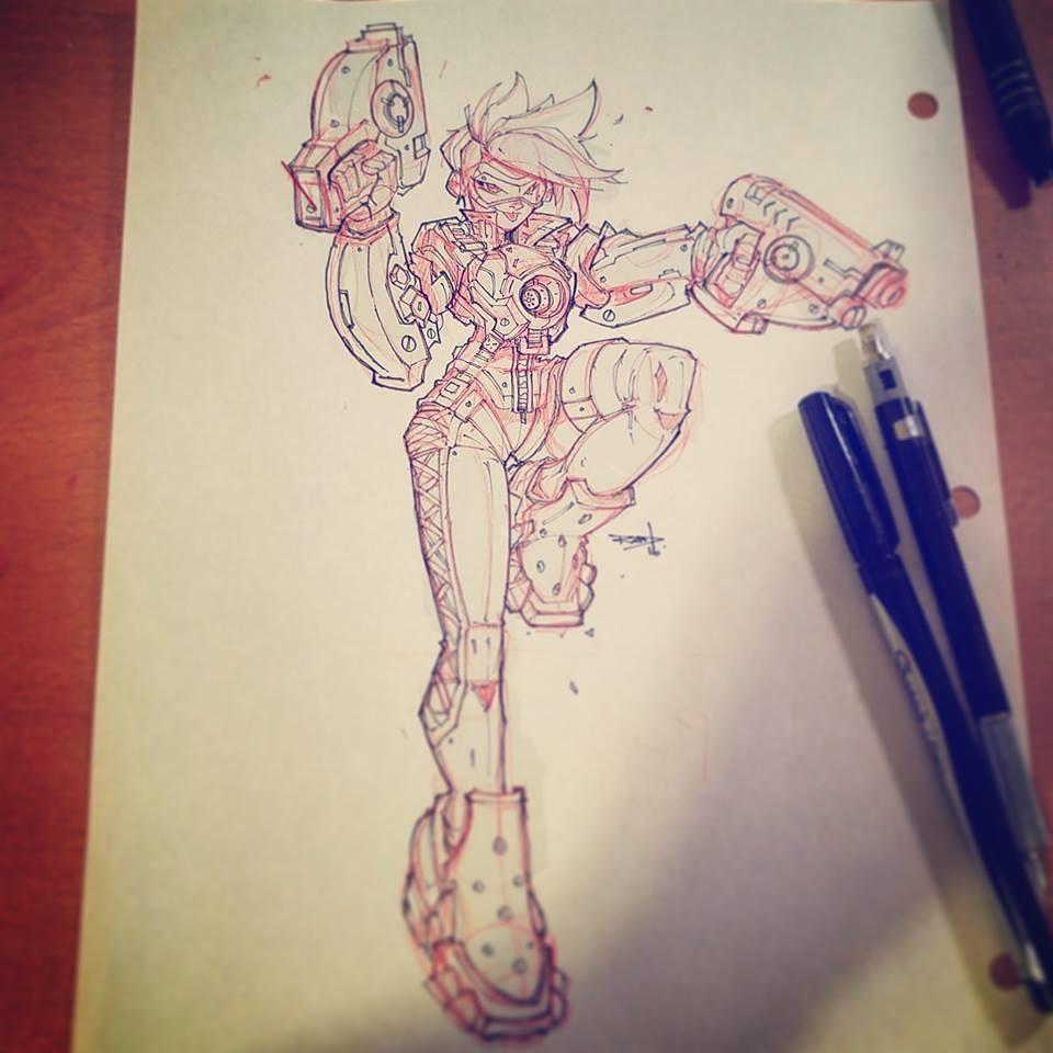 Final pencils/inks.