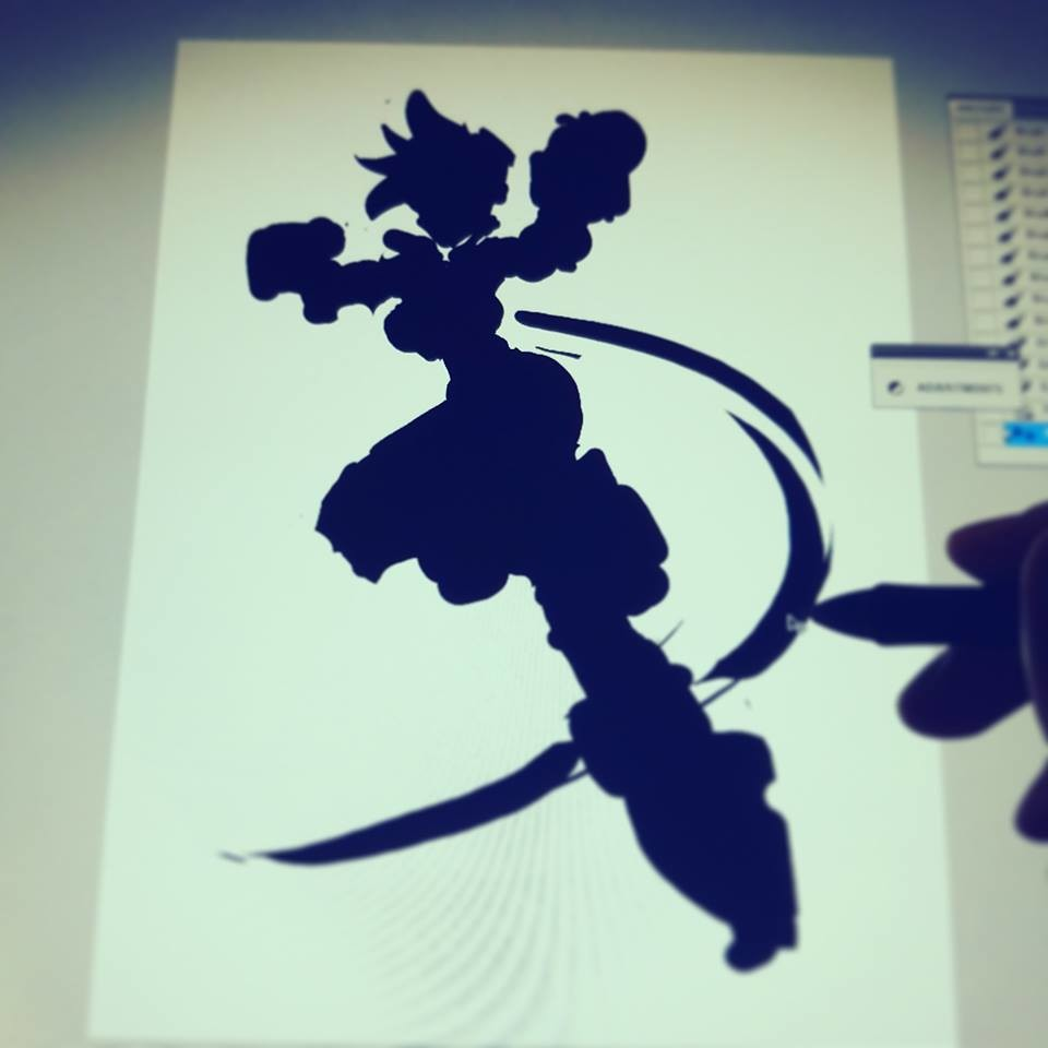 Step 01: Early Silhouette.