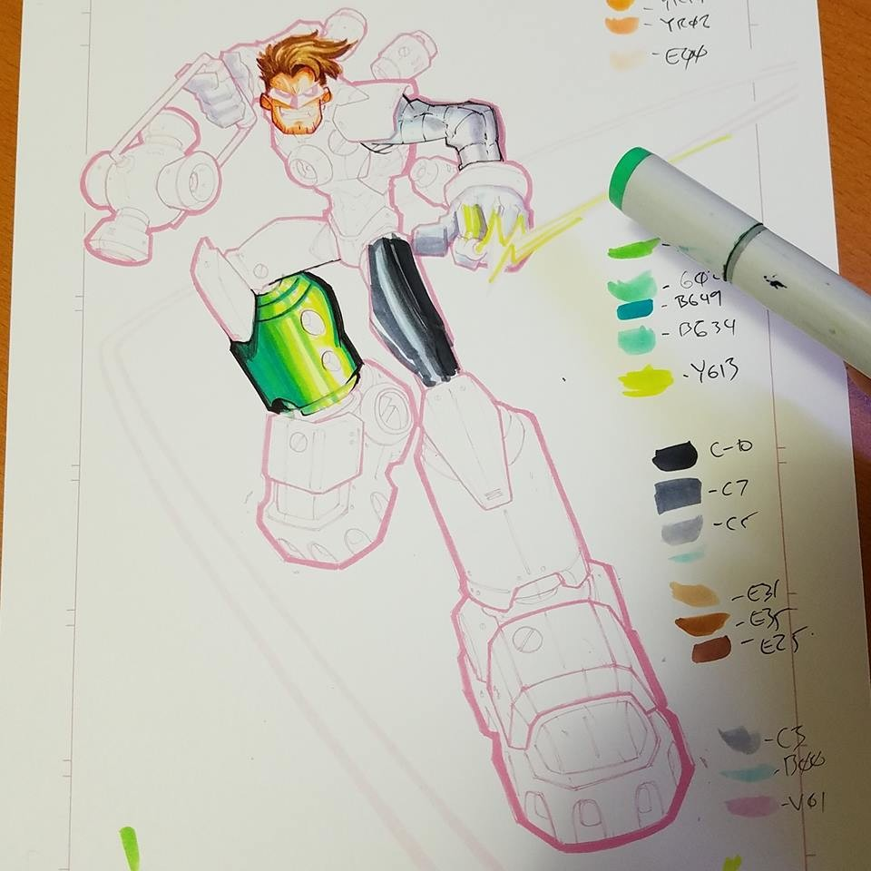 Step 03: Copic Color Guide