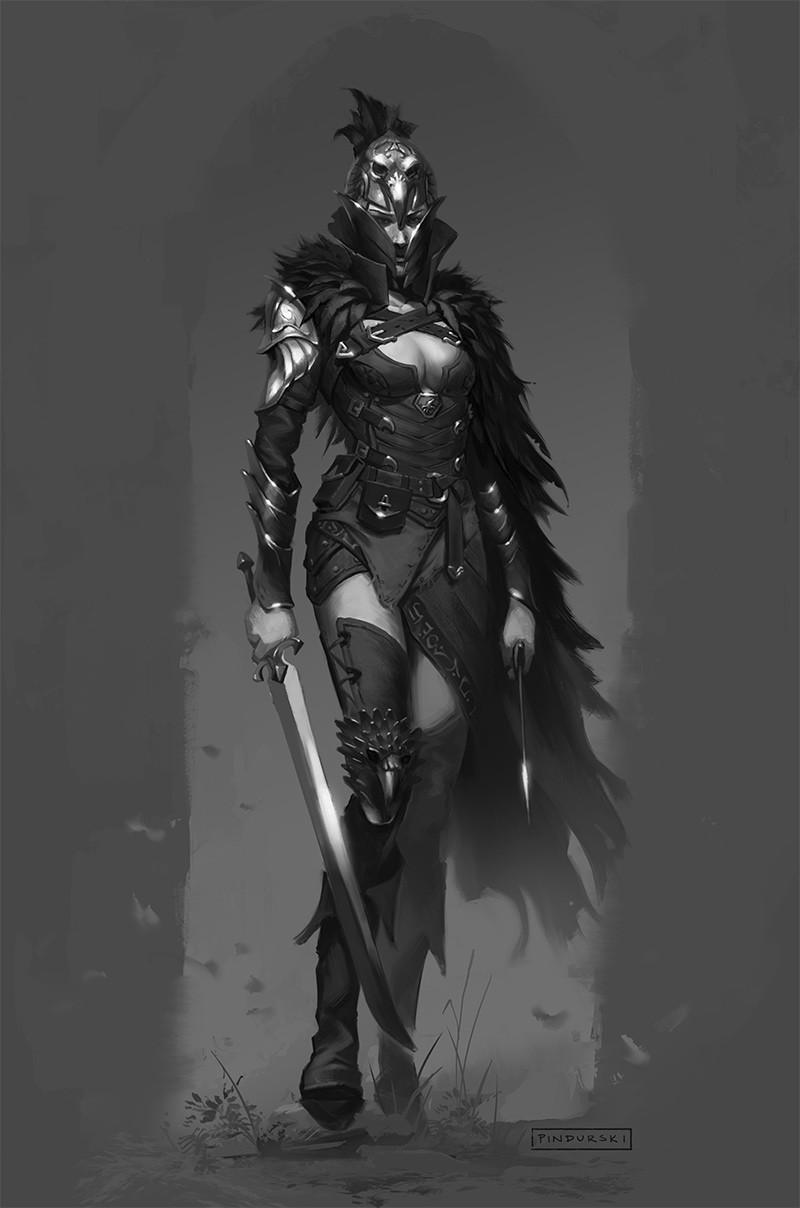 Hugh pindur pindurski raven knight