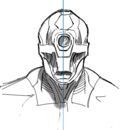 front sketch