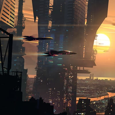Raphael lacoste sunset city final web