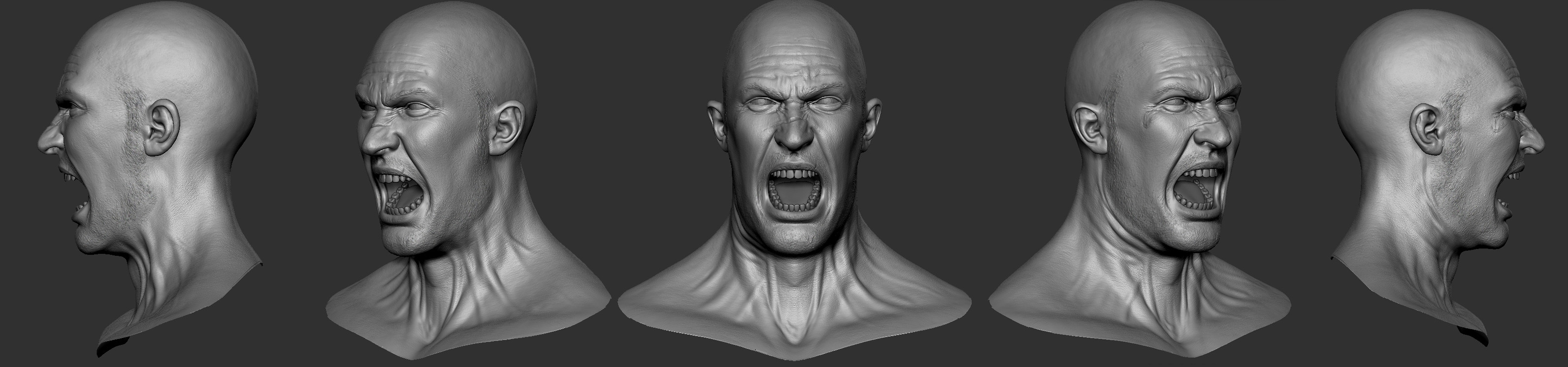 expression from zbrush