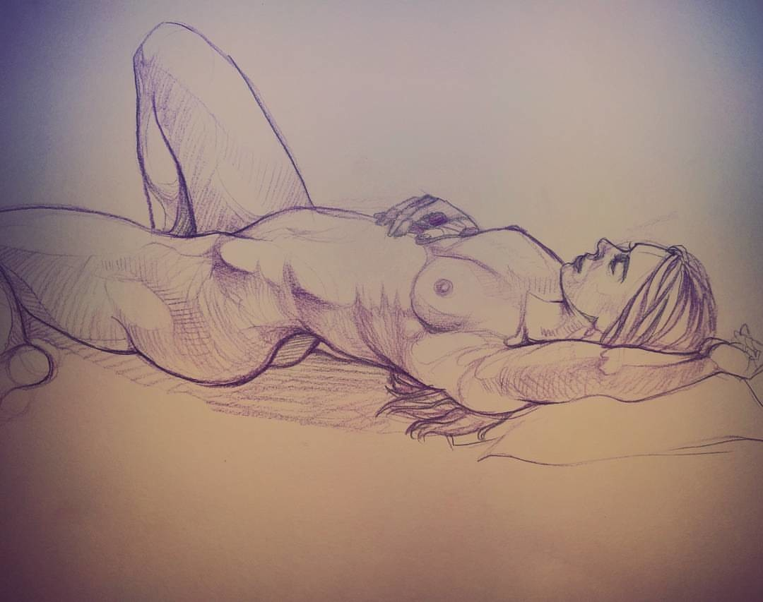 Elaine chong figure drawing