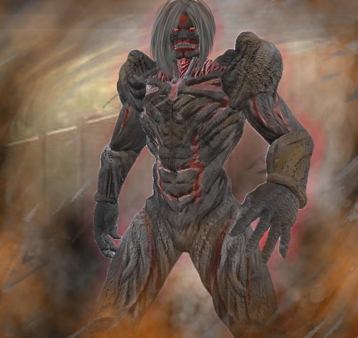 Attack On Titan Armored Titan