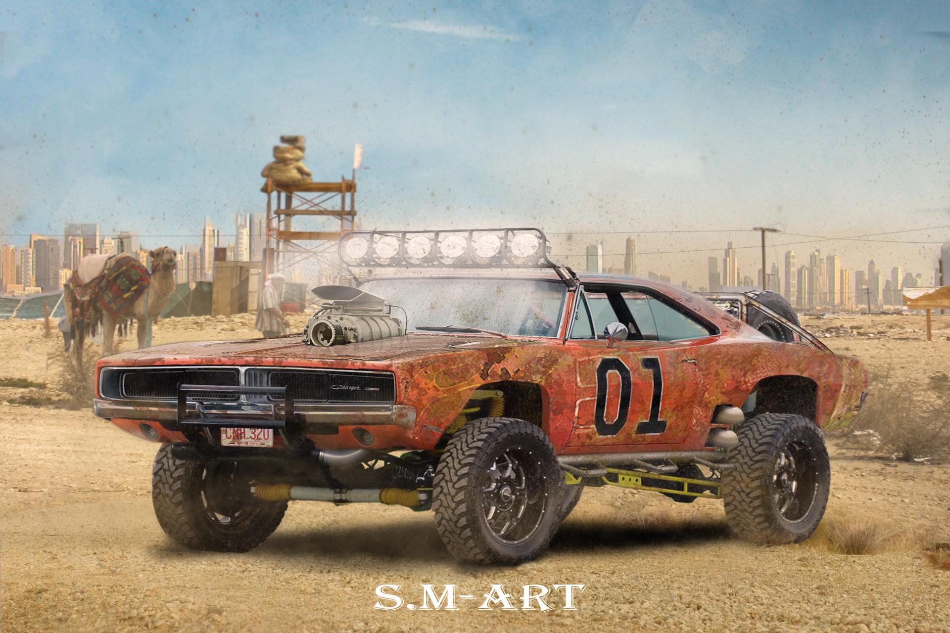Artstation Dodge Charger 1969 Quot Off Road Quot Saiman Marinets