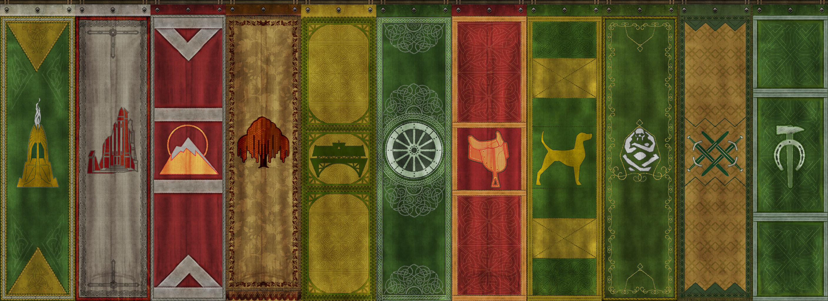 Heraldry Banners