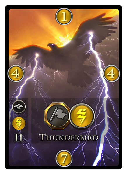 David sanhueza game o gami immortal cards thunderbird