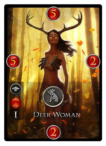 David sanhueza game o gami immortal cards deerwoman