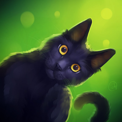 Den ovsyannikov cat
